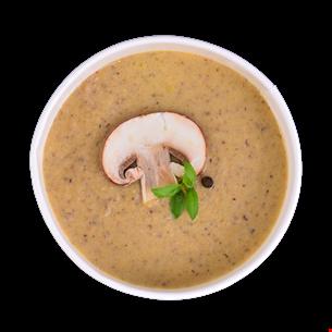 Supă cremă ciuperci de post