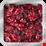 захаросани червени боровинки