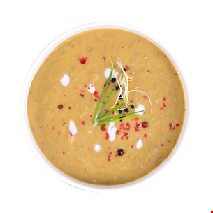 Supă cremă linte verde