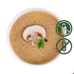 Supă cremă ciuperci